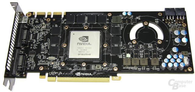GeForce GTX 470 ohne Kühler