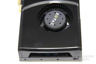 GeForce GTX 470 von oben