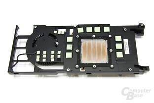 GeForce GTX 470 Plastikmantelrückseite
