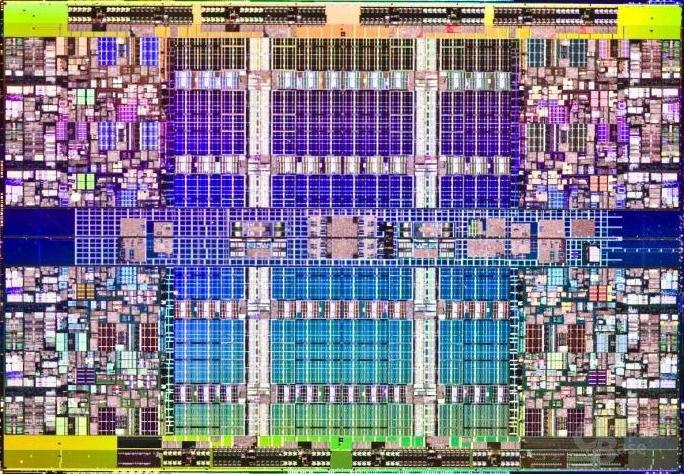 Nehalem-EX (45 nm): acht Kerne und 24 MByte L3-Cache auf 648 mm²