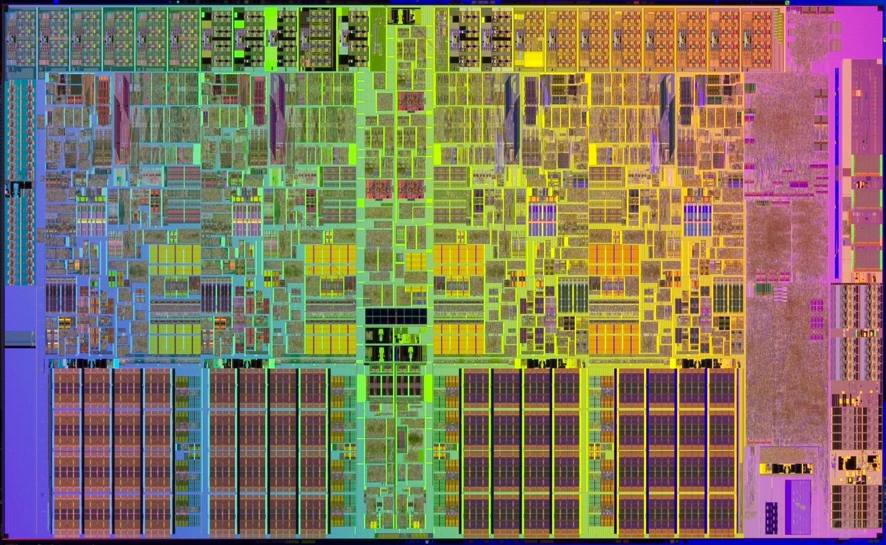 Lynnfield (45 nm): vier Kerne und 8 MByte L3-Cache bei 296 mm²