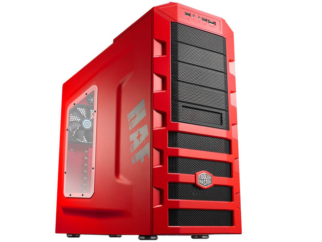 Cooler Master zeigt HAF 922 r/b Limited Edition