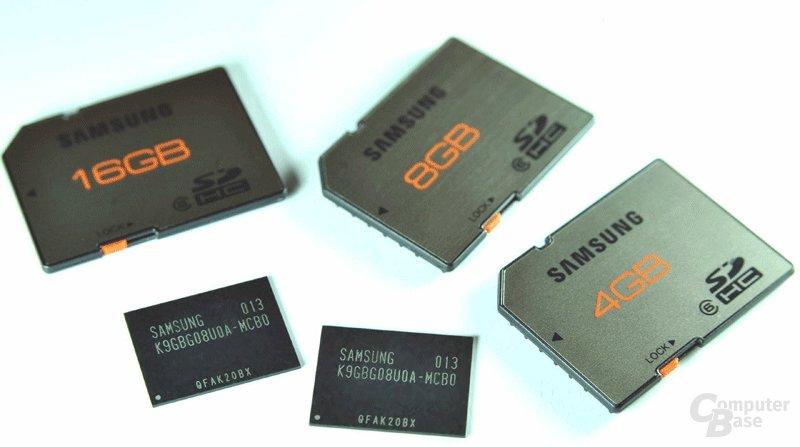 20 nm NAND-Flash-Produkte von Samsung