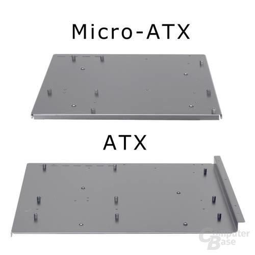 Motherboard-Trays des Lian Li PC-Q06