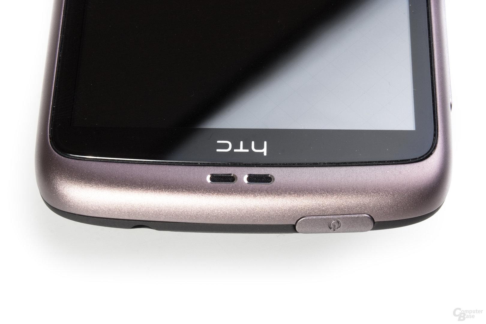 Lautsprecher des HTC Desire
