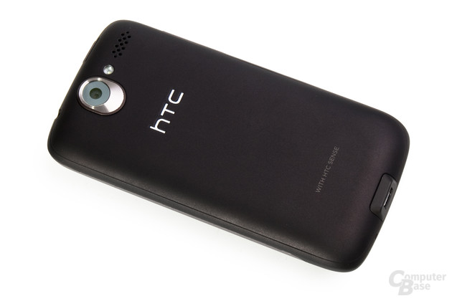 Rückseite des HTC Desire