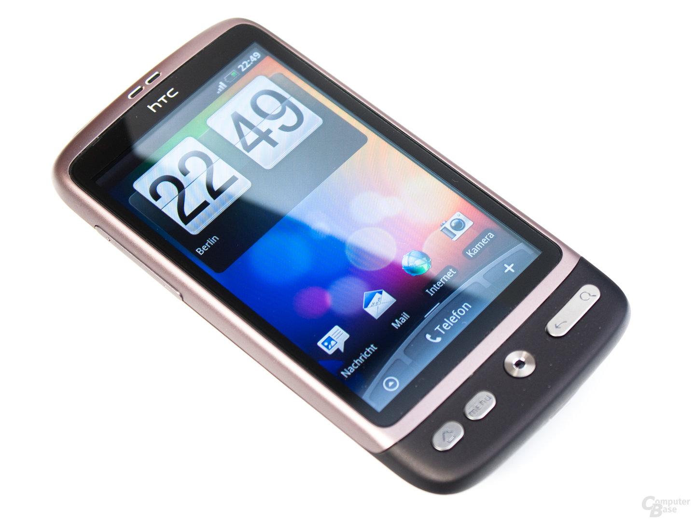 HTC Desire mit Standard-Homescreen