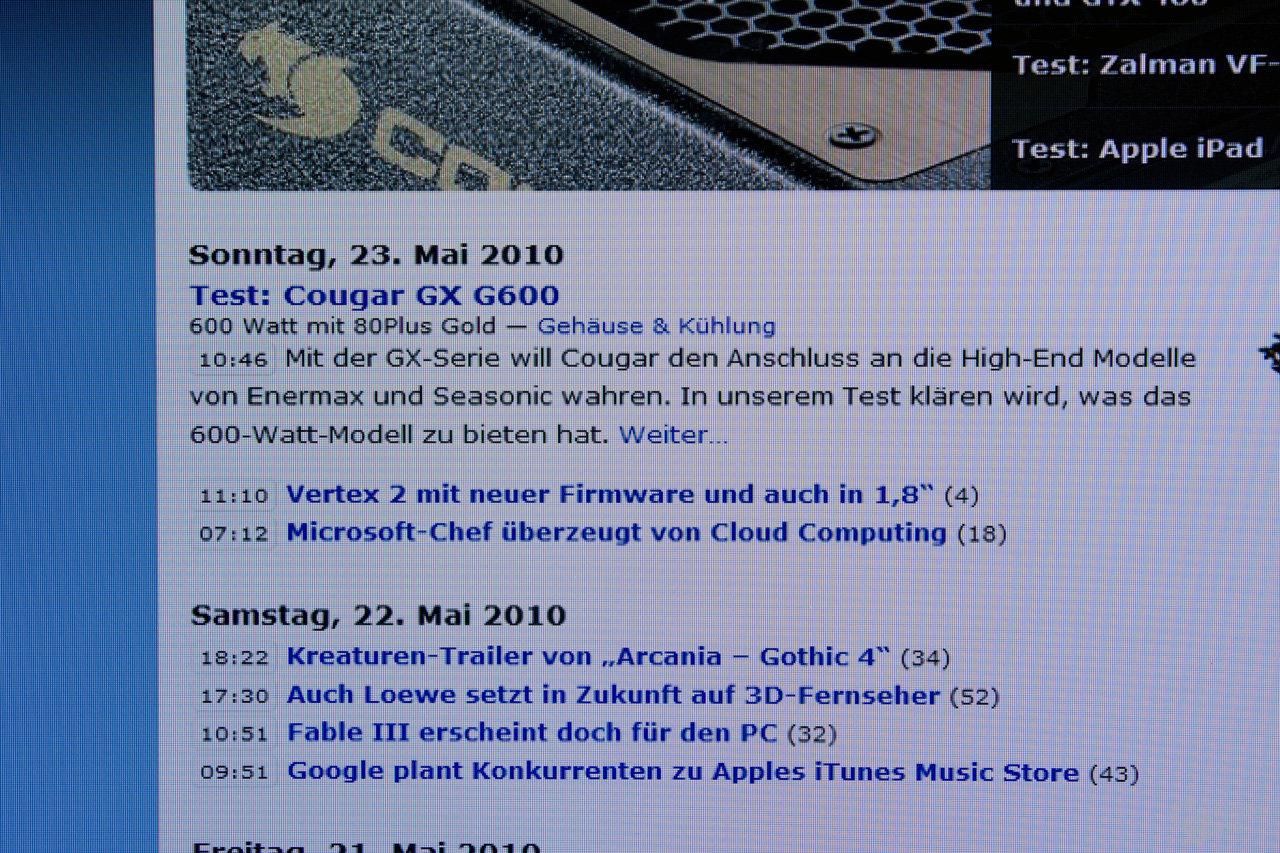 Acer D241H 1680 x 1050 Pixel