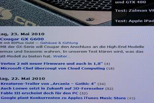 Acer D241H 1280 x 1024 Pixel gestreckt