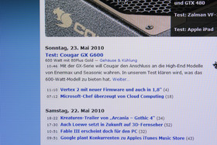 Acer D241H 1280 x 1024 Pixel mit korrektem Seitenverhältnis