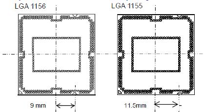 Neuer Sockel LGA1155