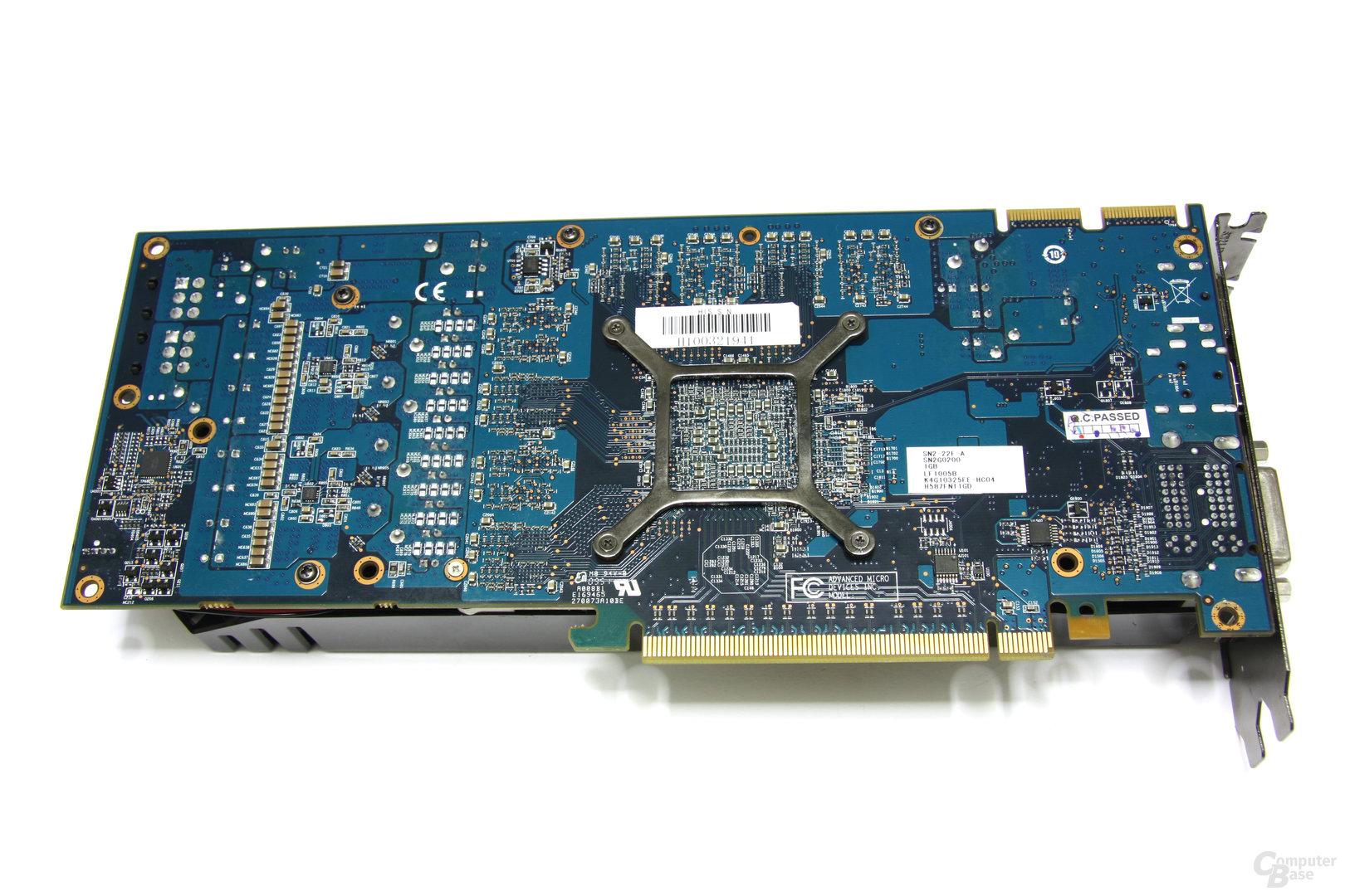Radeon HD 5870 iCooler V Turbo Rückseite