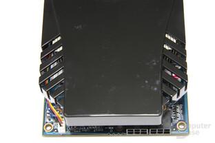 Radeon HD 5870 iCooler V Turbo von oben