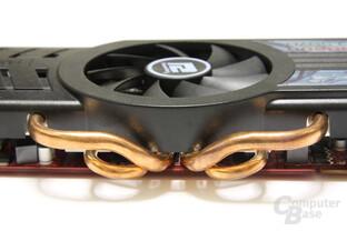Radeon HD 5870 PCS+ Heatpipes
