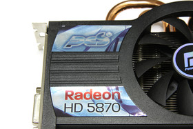 Radeon HD 5870 PCS+ Logo