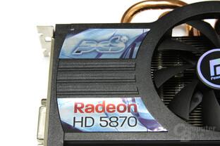 Radeon HD 5870 PCS+ Logo