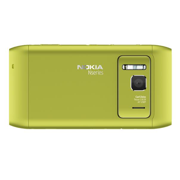 Nokia N8 – Rückseite (grün)