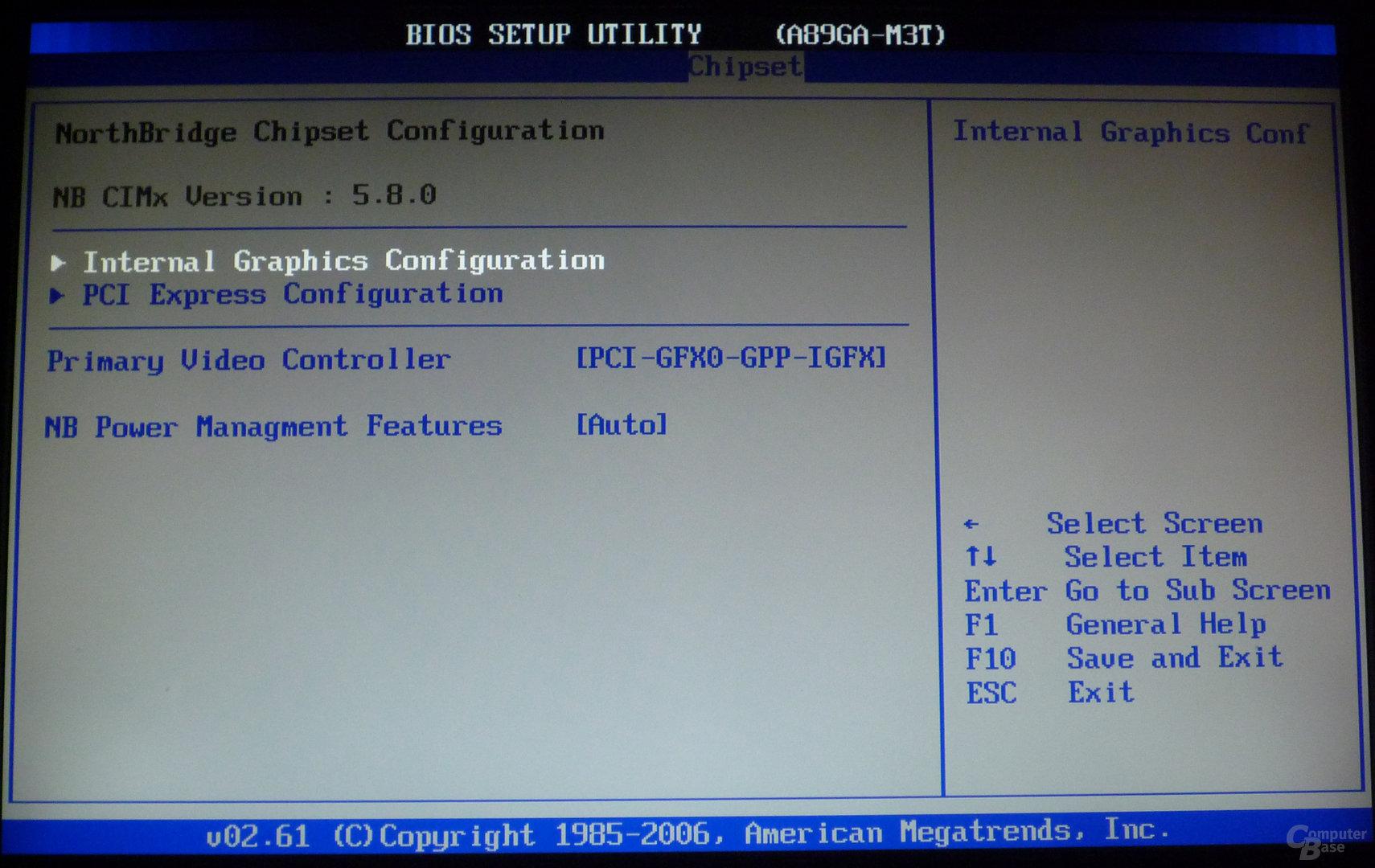 Biostar TA890GXE – BIOS