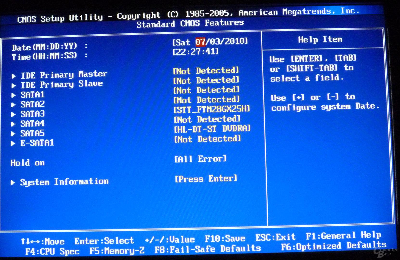MSI 890GXM-G65 – BIOS
