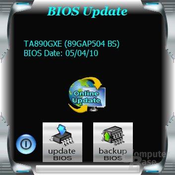 Biostar TA890GXE – Software