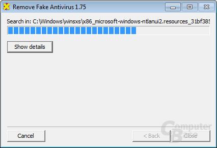 Remove Fake Antivirus – Search