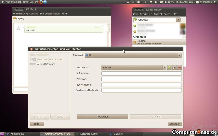 Ubuntu 10.04 – Chat