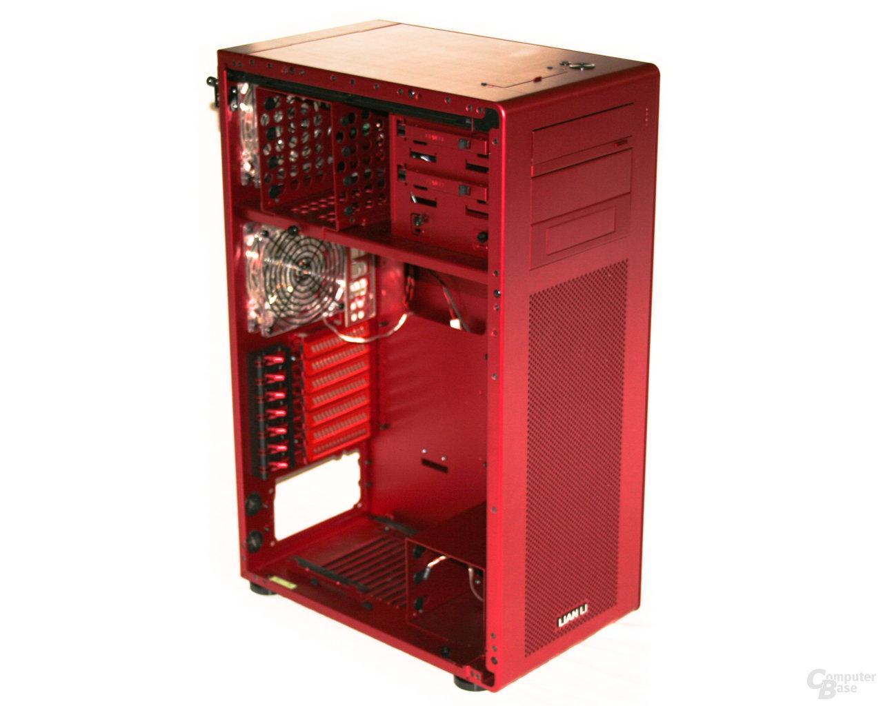 Lian Li PC-X900R – Innenansicht vorn