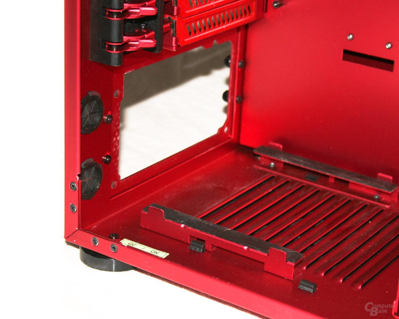 Lian Li PC-X900R – Netzteilauflage