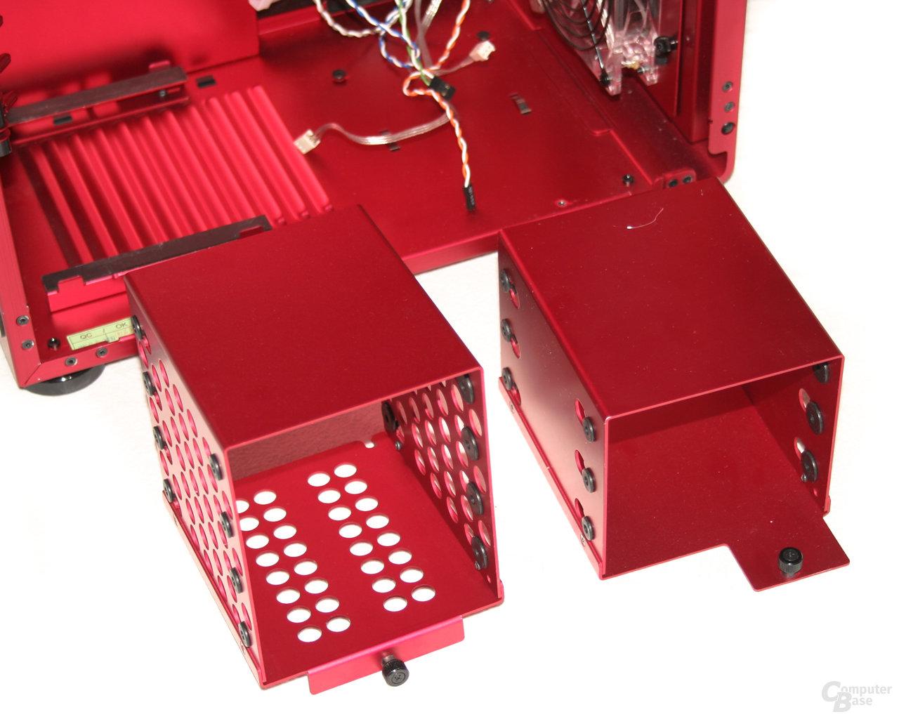 Lian Li PC-X900R – Festplattenkäfige