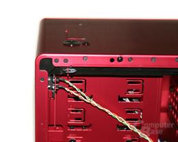 Lian Li PC-X900R – Status- und HDD-LED