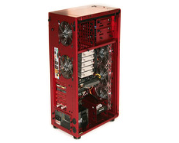 Lian Li PC-X900R – Hardware hinten