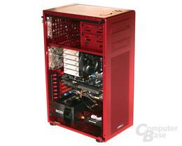 Lian Li PC-X900R – Hardware vorn