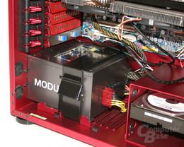 Lian Li PC-X900R – Netzteilmontage