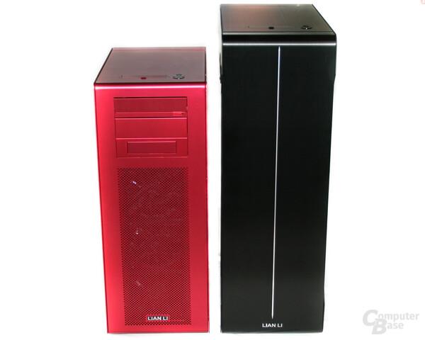 Lian Li PC-X900R im Vergleich zum PC-X2000BW