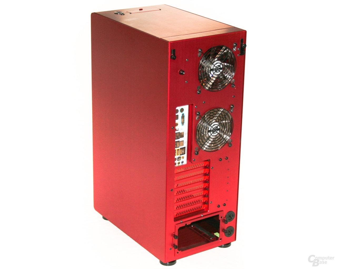 Lian Li PC-X900R – Rückseite rechts