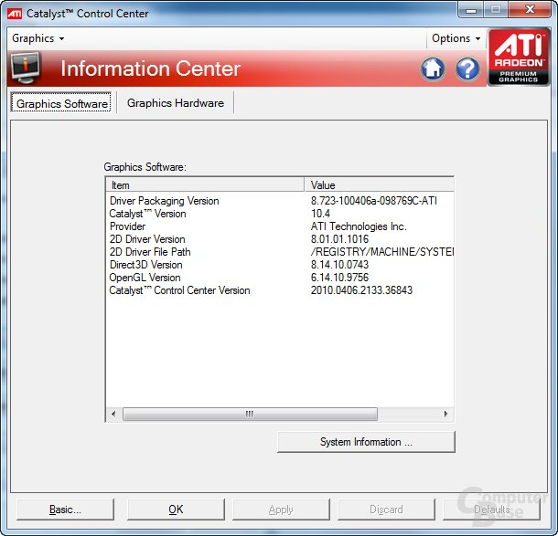 ATi Catalyst 10.4