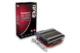 Club 3D Radeon HD5550 Noiseless Edition