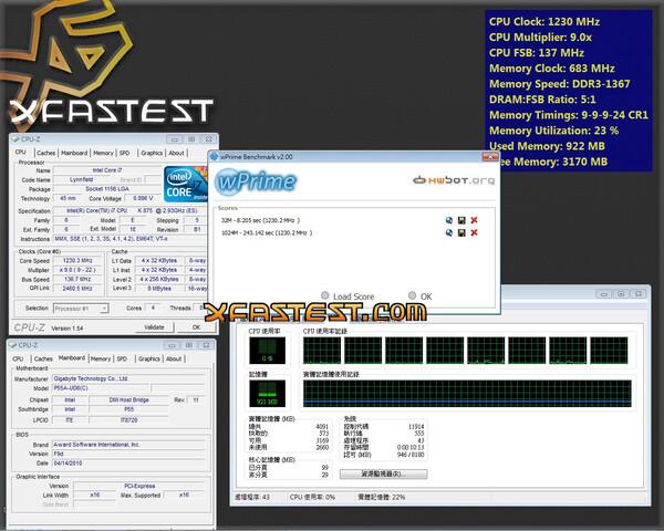 wPrime-Ergebnis eines Core i7-875K