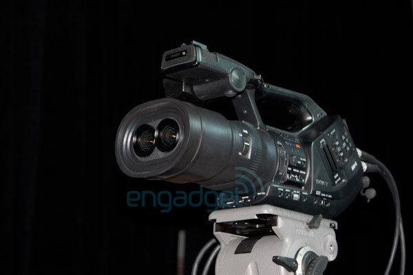 """3D-Camcorder """"EX3"""" von Sony?"""