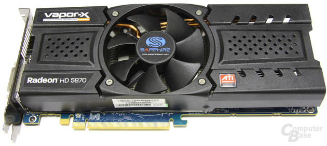 Sapphire Radeon HD 5870 Toxic