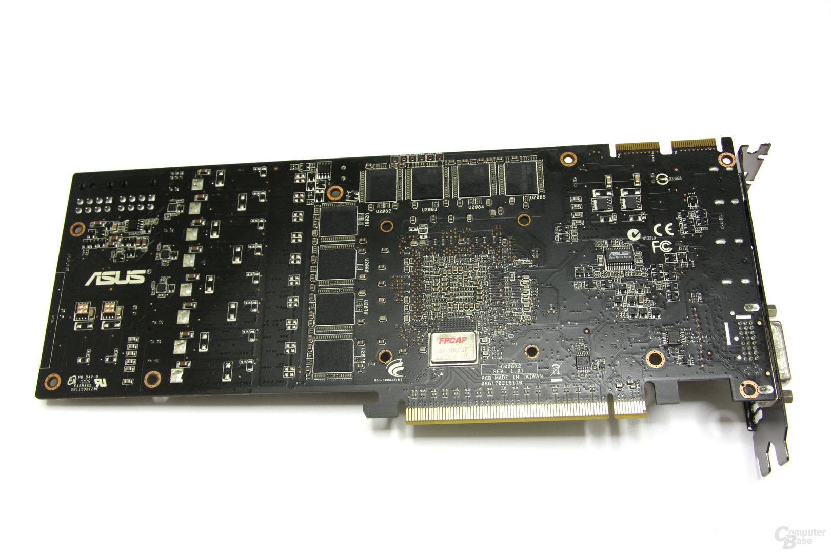 Radeon HD 5870 Matrix Rückseite ohne Kühler