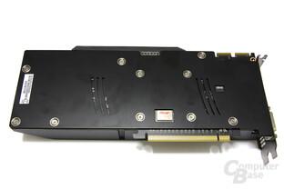 Radeon HD 5870 Matrix Rückseite