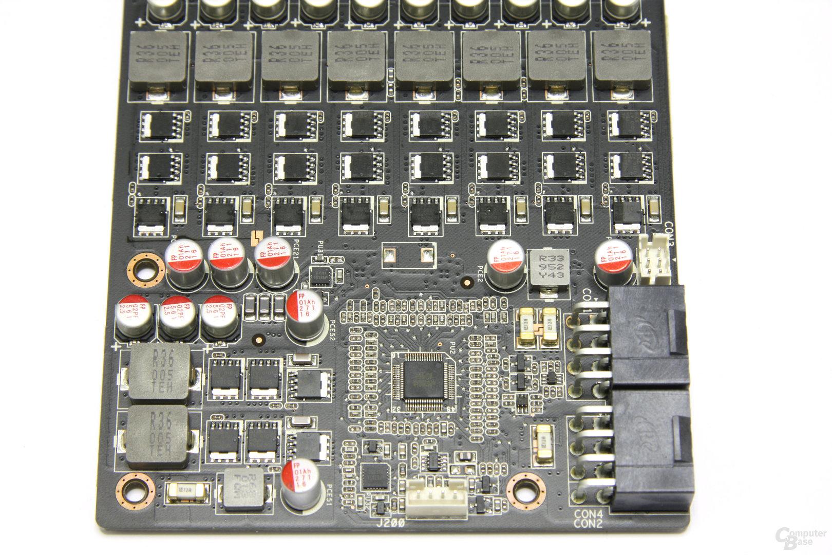 Radeon HD 5870 Matrix Spannungswandler