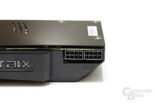Radeon HD 5870 Matrix Stromanschlüsse