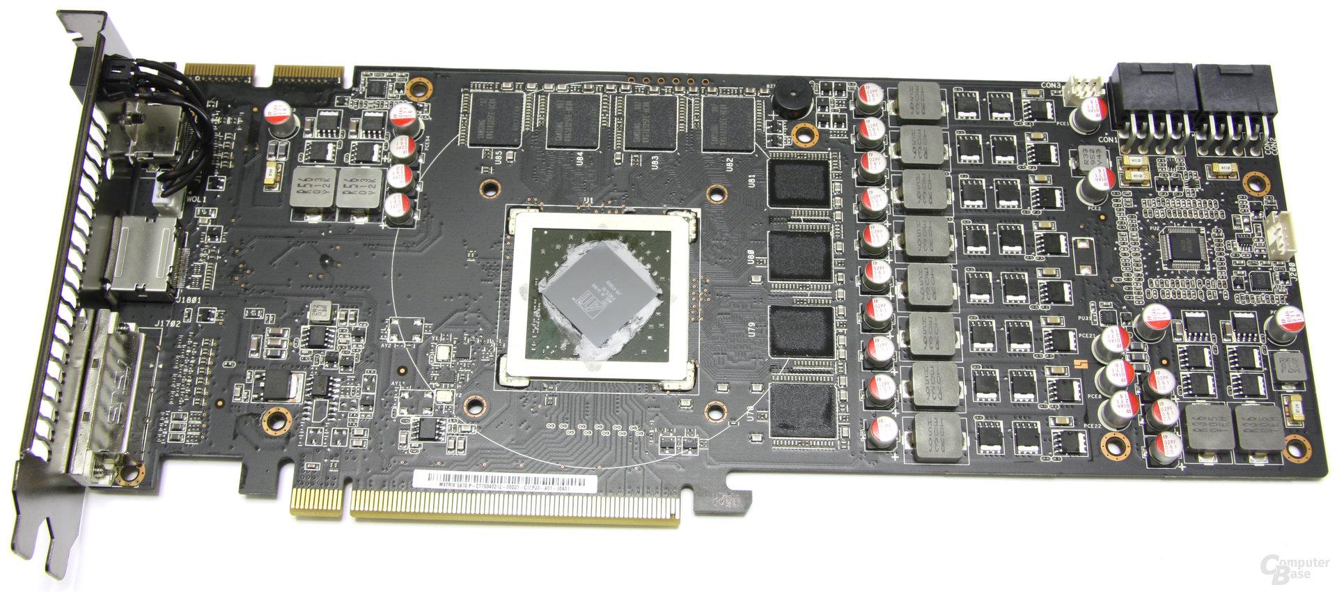 Radeon HD 5870 Matrix ohne Kühler