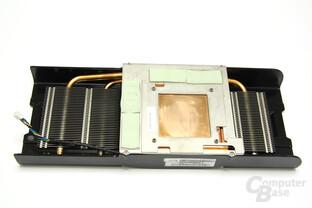 Radeon HD 5870 Toxic Rückseite Kühler