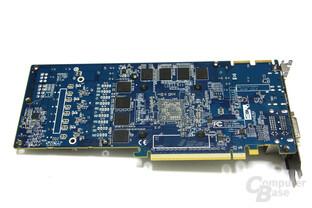 Radeon HD 5870 Toxic Rückseite ohne Kühler