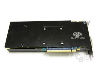 Radeon HD 5870 Toxic Rückseite