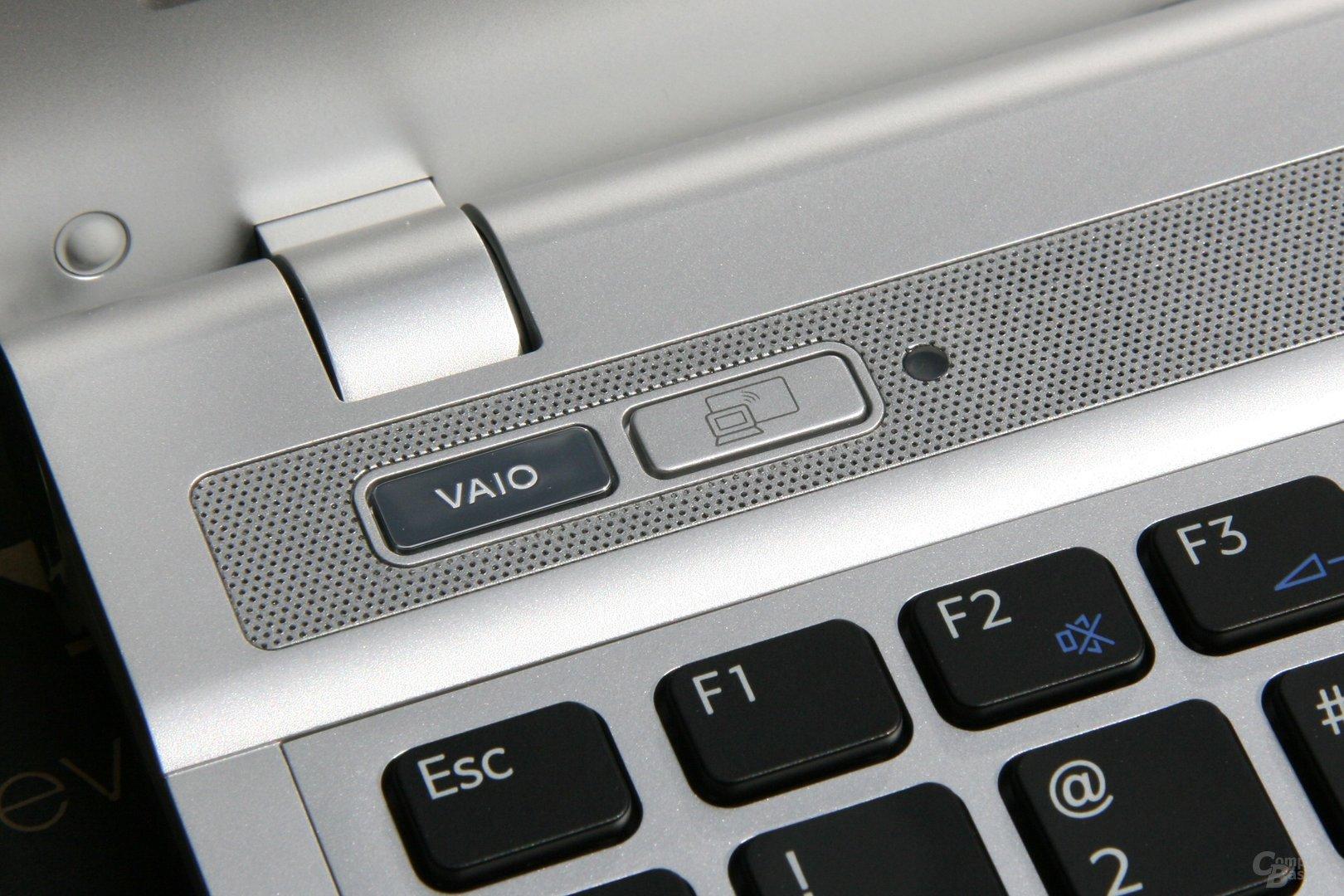 Sony Vaio S mit Schnelltaste für Intel WiDi