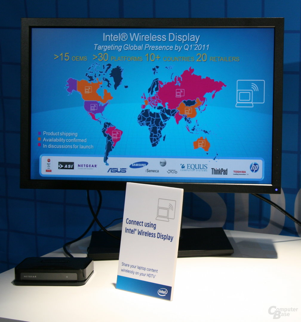 Intels WiDi-Pläne auf der Computex 2010